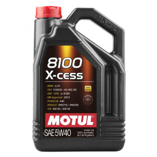 Моторное масло Motul 8100 X-cess 5W40 5 литров 102870